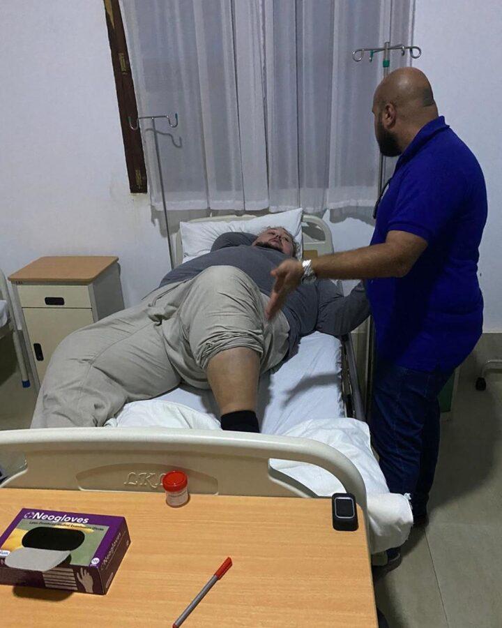 Затравкін в лікарні Таїланду
