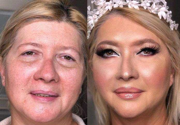 Косметика може змінити зовнішність будь-якої жінки