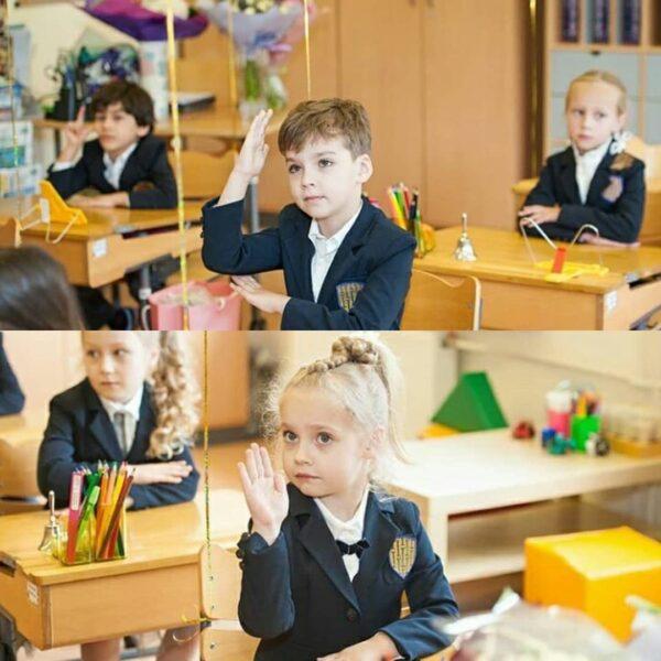 Гарри и Лиза в школе