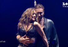 Олег Винник та Олена Шоптенко танцюють ча ча ча