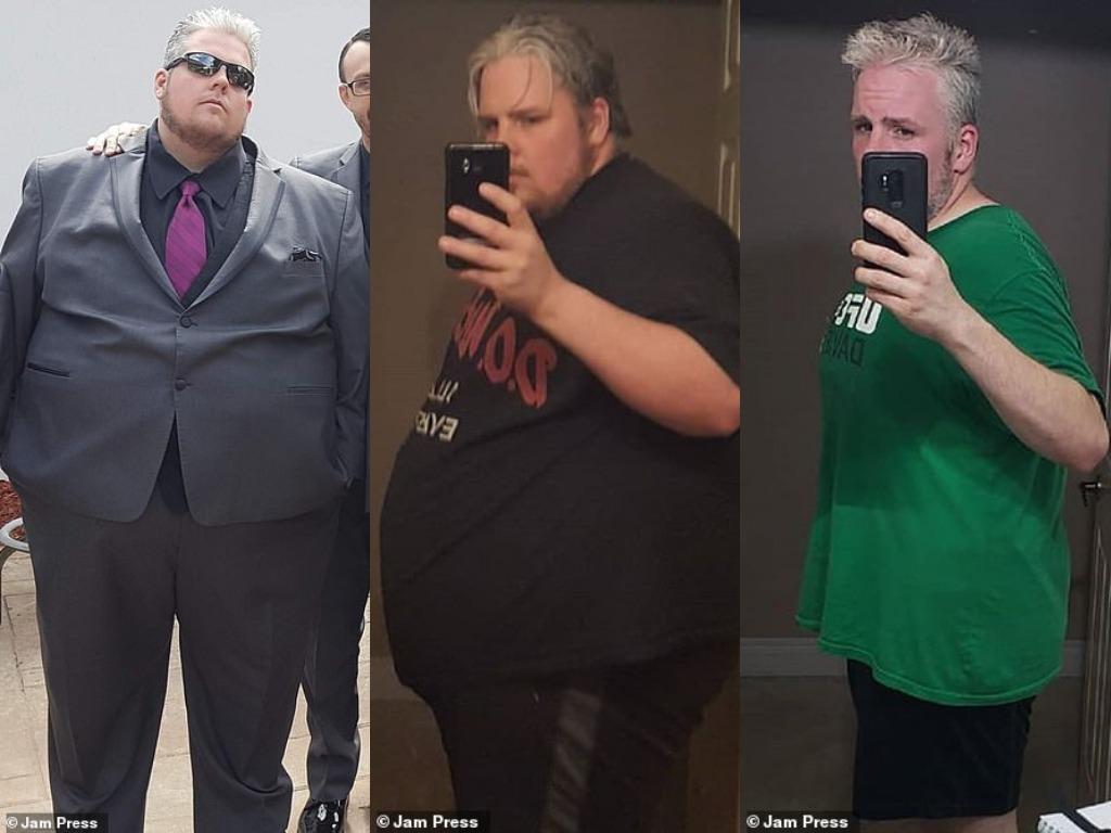 Мужчина похудел на 114 кг
