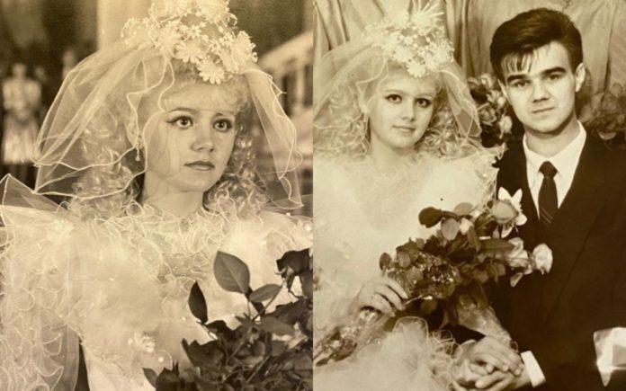 Співачка Наталі показала кадри з весільного альбому