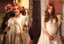 Вагітна Хюррем Султан, вона ж Мер'єм Узерлі, переживає не найпростіший етап в житті