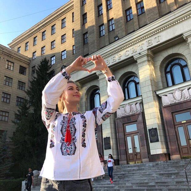 Анастасия Соломаха в Киеве