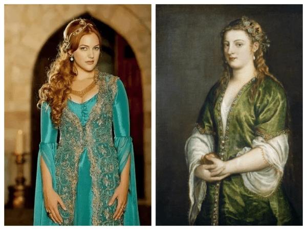 Хюррем-султан и Мерьем Узерли