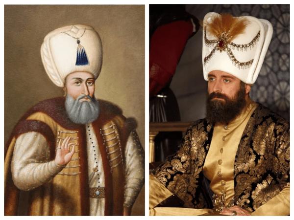 Сулейман I Великолепный и Халит Эргенч