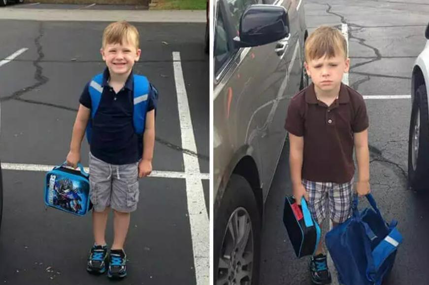 Школа - до и после