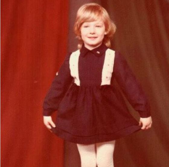 Катя Осадча в 4 роки
