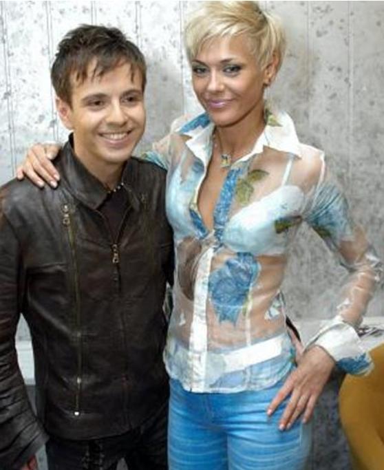 Андрій Губін з першою дружиною Лізою