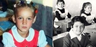 Звезды-отличники в детстве