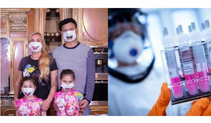 Семья Камалии заболела