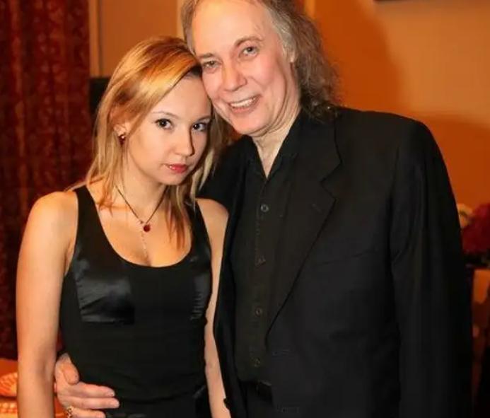 Владимир Конкин с дочерью