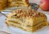Баварский яблочный торт  – простой рецепт