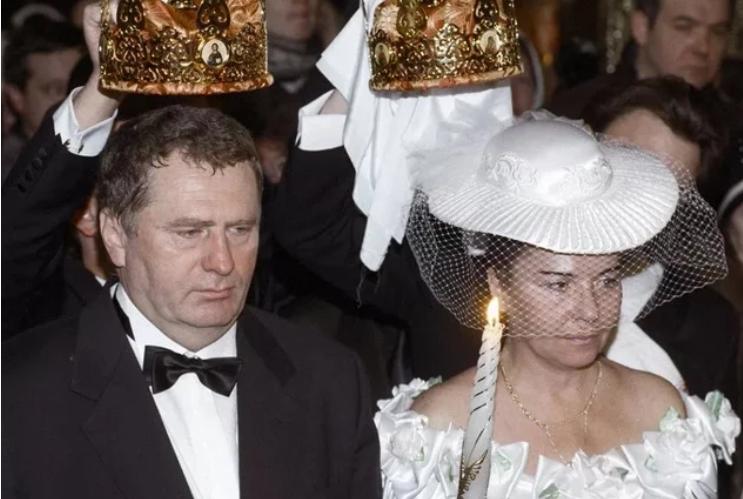 Венчание Жириновского