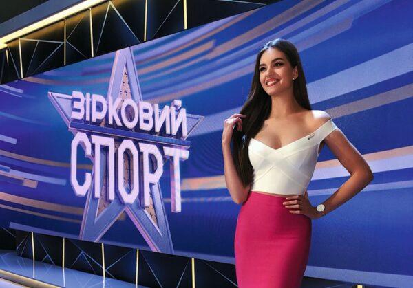 Олександра Кучеренко в ефірі