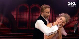 Олег Винник та Олена Шоптенко танцюють віденський вальс