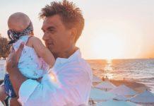Влад Топалов, фото с сыном