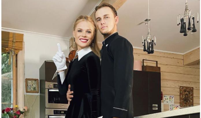 Ольга Фреймут и Илья Паздина