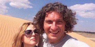 Дружина Кузьми Скрябіна зі своїм покійним чоловіком