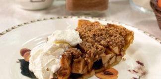 Пирог с яблоками – рецепт Юлии Высоцкой