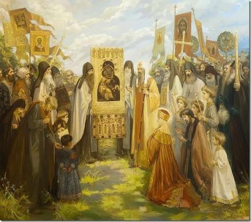 Стретение Владимирской иконы Пресвятой Богородицы