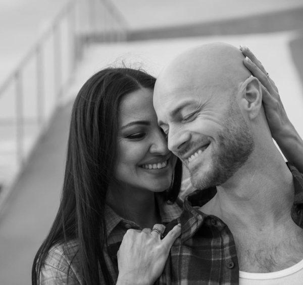 Влад Яма с женой Лилианой Кудлай