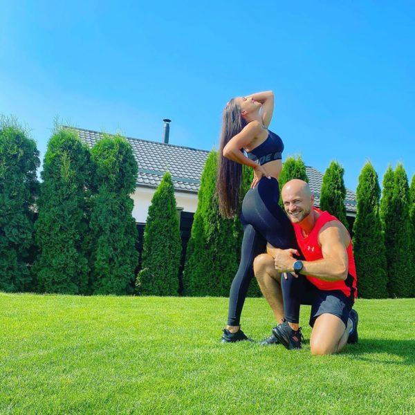Влад и Лилиана ведут активный образ жизни