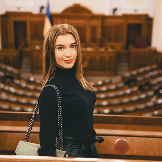 Анастасія Соломаха в Верхойной раді