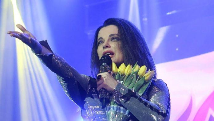 Наташа Корольова на концерті