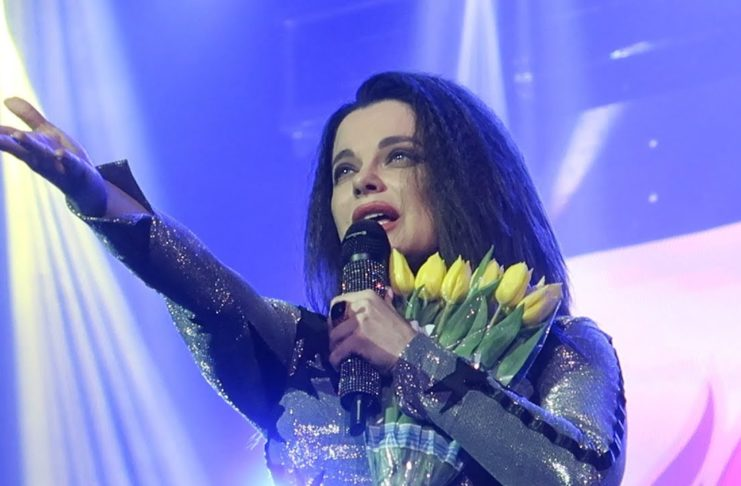 Наташа Королева на концерте