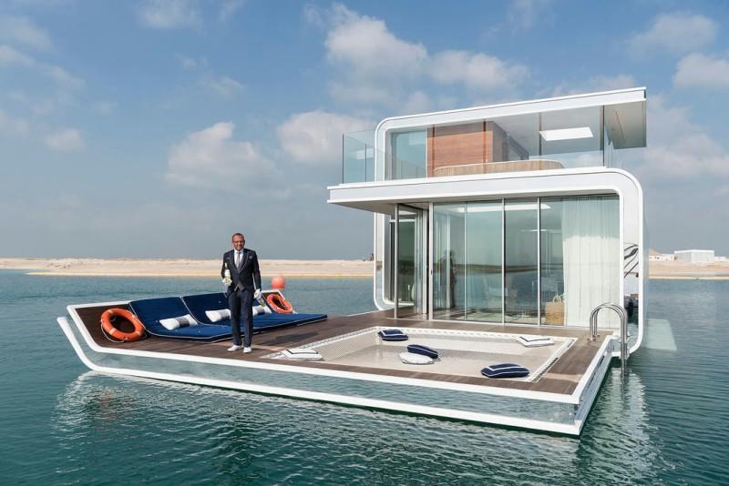 Плавающая вилла за $2 млн