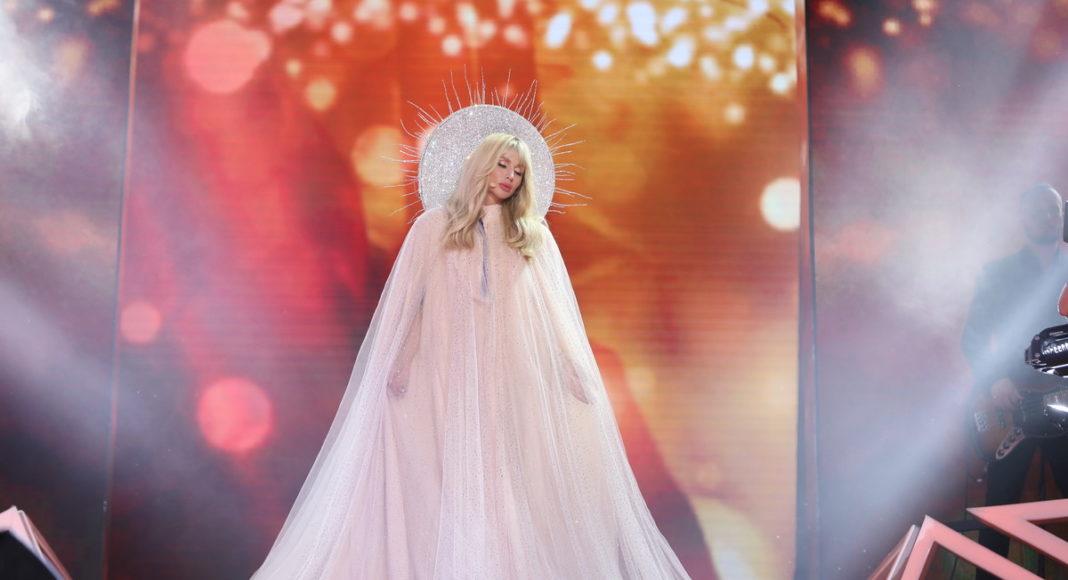 Светлана Лобода в свадебном платье