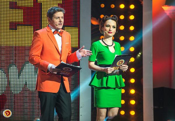 Сморигин и Булитко на сцене