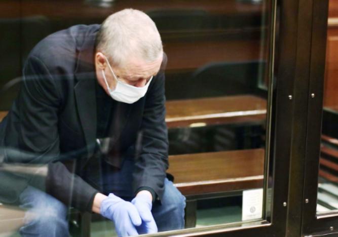 Михайло Єфремов на засіданні суду
