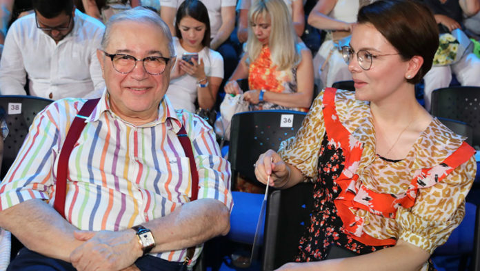 Євген Петросян і Тетяна Брухунова