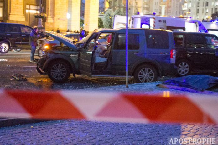 Аварія на Хрещатику 30 жовтня 2020