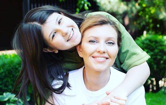 Саша Зеленская с мамой