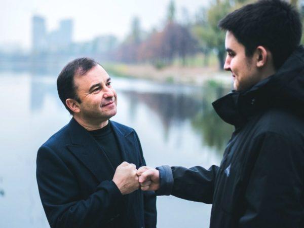 Виктор и его покойный сын Павел