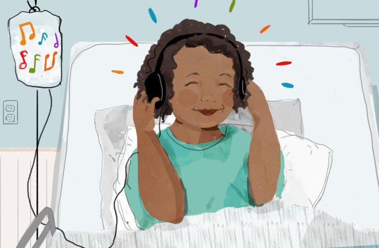 Музыка вместо успокоительного