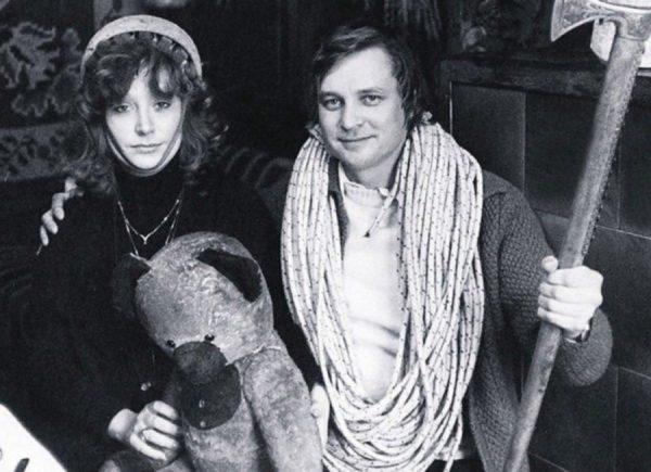 Алла Пугачова і Олександр Стефанович в 1980 році