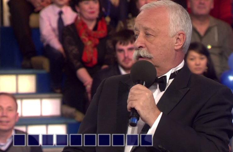 Леонид Якубович в шоу «Поле чудес»