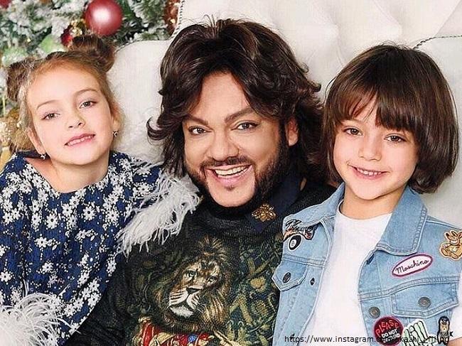 Киркоров и дети