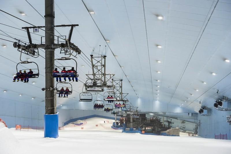 Горнолыжный курорт «Ски Дубай»