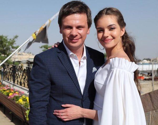 Дмитро Комаров та Олександра Кучеренко одружилися таємно