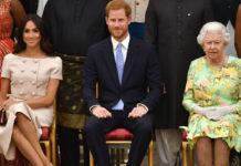 Герцоги Сассекские и королева Елизавета II