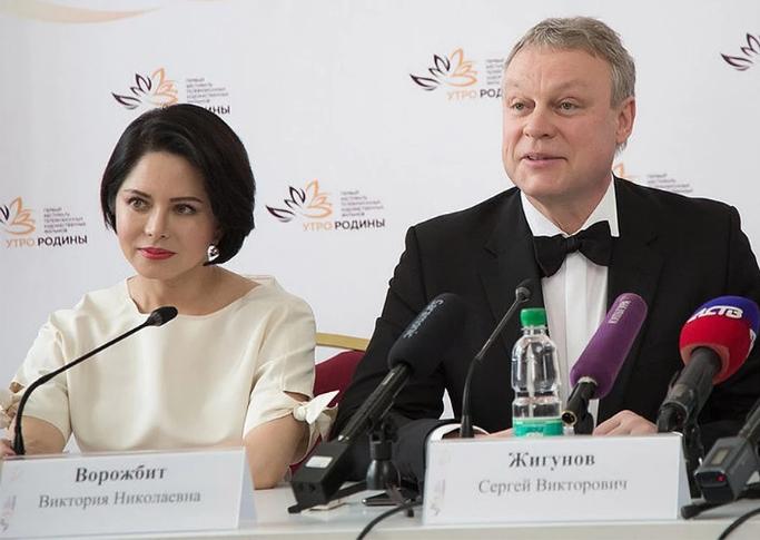 Сергій Жигунов і Вікторія Ворожбит