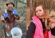 Бабкин и Плакидюк нашли грибы