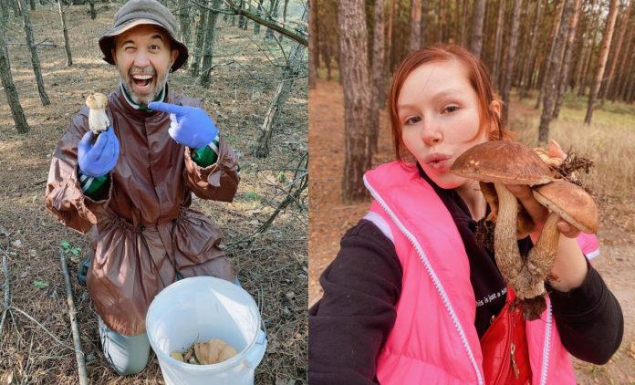 Бабкін і Плакидюк знайшли гриби