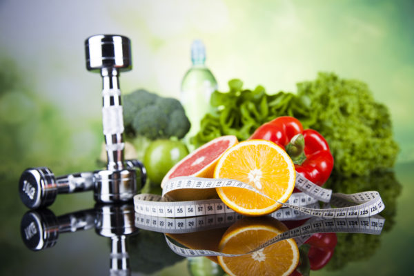 Спорт эффективен при сбалансированном питании