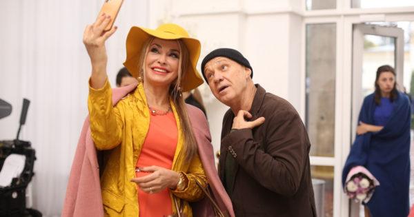 Ольга Сумская и Георгий Делиев